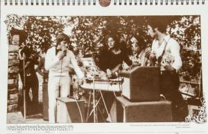 """Berceto Calendario 2013 (17) Band """"Vecchi ricordi"""" di Ghiare (Luglio 1970)"""