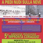 Berceto (Parma) 5 Impronta coraggio locandina