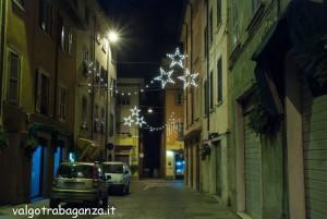 Borgotaro  Notturno 13-12-2013 (105) luminarie Natale