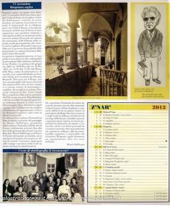 Calendario 2013 Lunario Borgotarese (101) gennaio