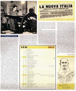 Calendario 2013 Lunario Borgotarese (120) Luglio