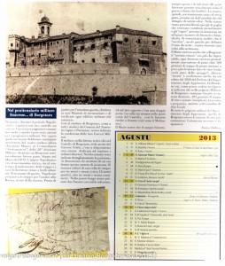 Calendario 2013 Lunario Borgotarese (124) agosto