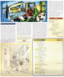Calendario 2013 Lunario Borgotarese (139) dicembre