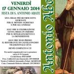 2014-01-17 Sant'Antonio Berceto locandina