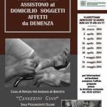 """2014-03-26 """"Corso di formazione per famigliari che assistono al domicilio soggetti affetti da demenza"""" - """"Cooperativa di comunità"""""""
