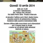 2014-04-05 Berceto demolizione edificio - esplosione