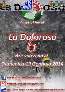 Locandina Dolorosa Berceto Fornovo 19-01-2014
