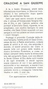 Santino San Giuseppe Orazione