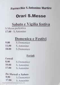 avviso celebrazioni Messe Borgotaro 2014