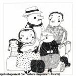 Un' illustrazione all'interno del libro dei bambini bercetesi