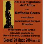 2014-03-20 Raffaella Greco Borgotaro locandina