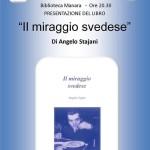 """2014-03-21 Borgotaro """"Il miraggio svedese"""": Angelo Tajani in Biblioteca"""