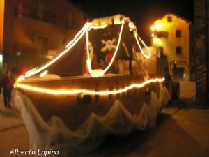 Berceto Carnevale 2014 (10) sfilata notturna di Alberto Lapina