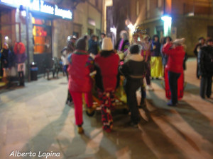 Berceto Carnevale 2014 (21) sfilata notturna di Alberto Lapina