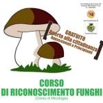 Corso riconoscimento funghi manifesto