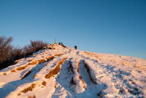 Monte Gottero di Valentina Bruschi 25-01-2014 (131) crinale