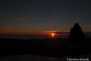 Monte Gottero di Valentina Bruschi 25-01-2014 (153) tramonto