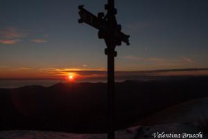 Monte Gottero di Valentina Bruschi 25-01-2014 (154) croce di ferro