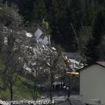 (207) Berceto esplosione  macerie 2014-04-10