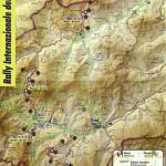 Cartina 21° Rally Internazionale del Taro - Borgo Val di Taro-Bedonia (Parma)