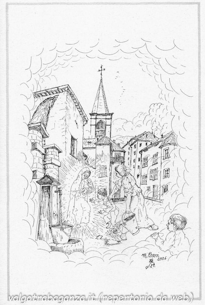 Mario Previ La Madona dal buslan (10) Borgotaro - Domenica delle Palme