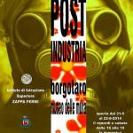 EVENTO Locandina Post Industria Borgotaro 2014