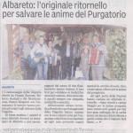 ALBARETO - I cantamaggio 2014 Gazzetta di Parma