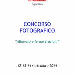 Concorso fotografico Fiera del Fungo Albareto 2014