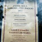 Festa alla Madonna del Faggio 2014