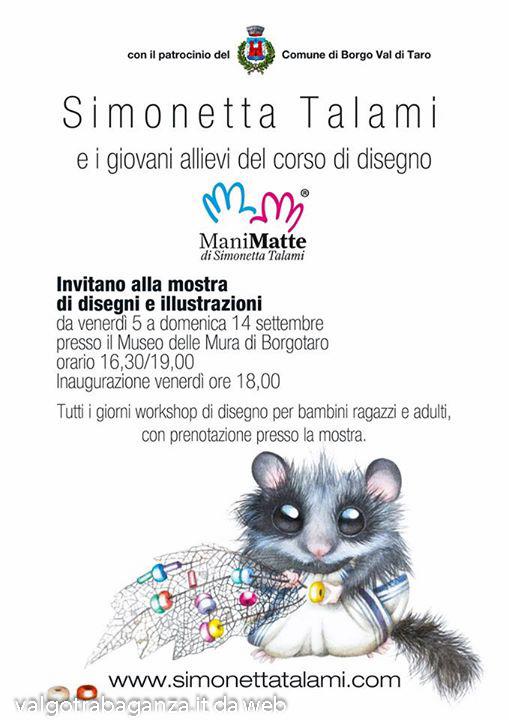Mostra Simonetta Talami Disegni e Illustrazioni-2