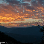 Tramonto Rosso 31-08-2014 (12) Val Grontone