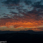 Tramonto Rosso 31-08-2014 (14) Val Grontone