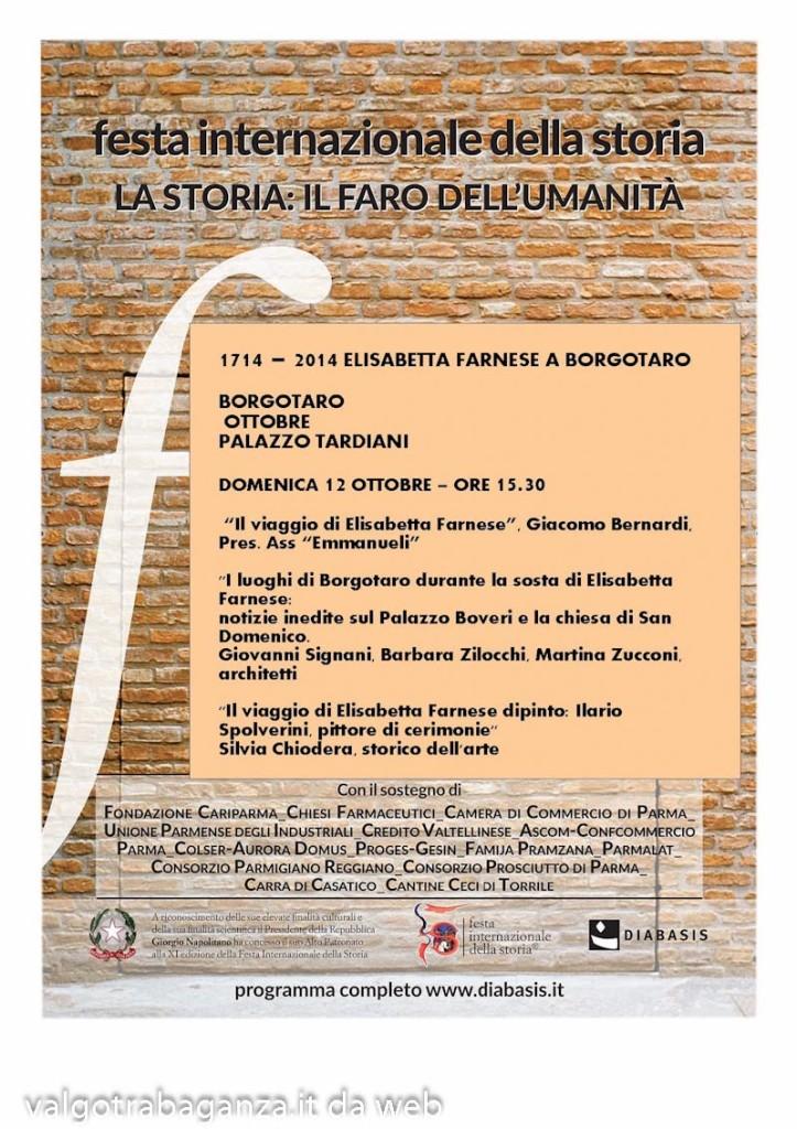 Elisabetta Farnese a Borgotaro Locandina