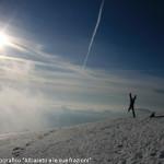 Sabini Luca Monte Gottero - Neve e luce