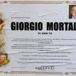 necrologio Giorgio Mortali