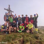 Cronoscalata Monte Gottero foto di gruppo