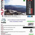 2015-01-25  5° Winter Trail Del Borgo locandina