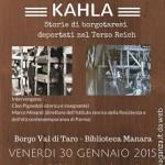 2015-01-30 Kahla  storia dei Borgotaresi deportati nel campo di lavoro