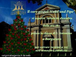 Concerto del Coro Gospel Cake & Pipe Borgotaro