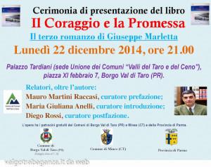 Giuseppe Marletta Il Coraggio e la Promessa