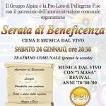 2015-01-24 Serata di beneficenza Pellegrino Parmense