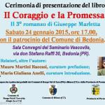 2015-01-24 presentazione Il Coraggio e la Promessa di Giuseppe Marletta