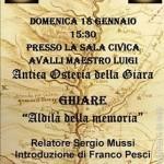 Aldilà della memoria - Relatore Sergio Mussi