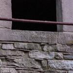 Cà Alvara di Pagazzano Berceto 1 Scritte scolpite nella Pietra