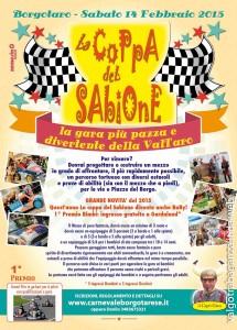 La coppa del Sabione Borgotaro VOLANTINO GARA 2015