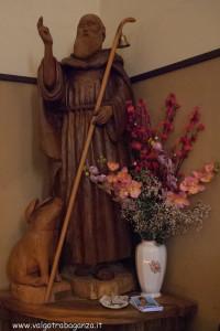 Sant'Antonio Anzola Bedonia statua legno