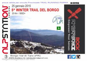 Winter Trail del Borgo 2015 Borgotaro 1