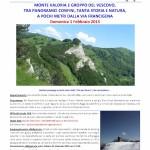 escursione monte Valoria Groppo del Vescovo