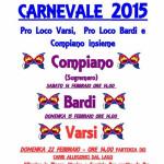 Carnevale 2015 Varsi