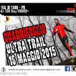 3° Quadrifoglio Ultratrail – Borgo val di Taro 1 locandina